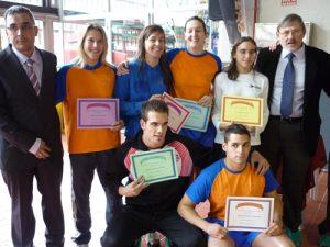 """Ganadores del """"Trofeo de Vallecas"""" de Salvamento y Socorrismo"""