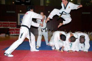 Taekwondo en Vallecas