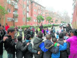 Alrededor de 100 menores y adolescentes participaron en la Feria de la Primavera.