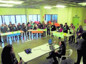 El encuentro perseguía que mujeres en situación similar compartieran un espacio