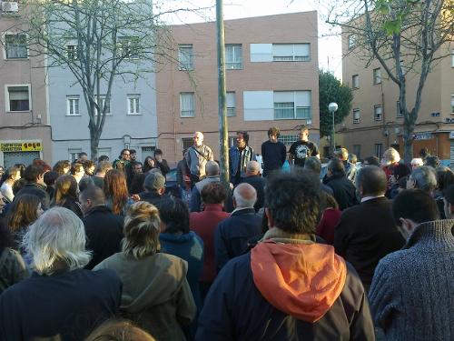 Concentración en apoyo a los detenidos