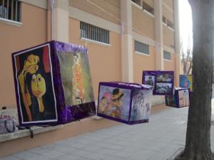 Exposición carteles día de la mujer