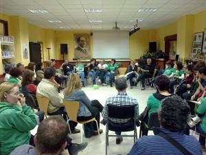 Jornadas Nos desvelamos por la Educación IES Tirso de Molina Vallecas