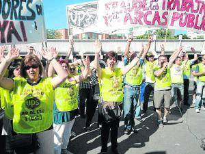 Los trabajadores de Vallecas continúan sus movilizaciones.