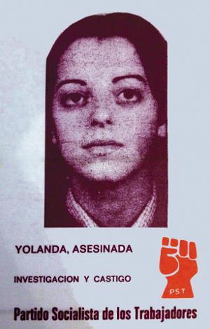 Cartel Yolanda