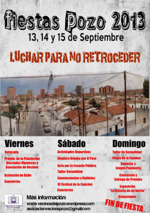 Fiestas Pozo 2013