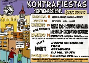Contra-Fiestas de Villa de Vallecas 2013