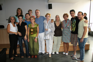 La presentación tuvo lugar en el centro de salud de Pavones.