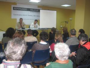 Las Jornadas tuvieron lugar en la sede de Vallecas Todo Cultura.