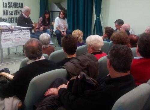 El acto informativo en el centro de mayores tuvo lugar el 27 de enero.