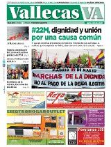 Portada Vallecas VA, abril de 2014