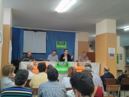 Asamblea informativa celebrada el pasado día 10 de abril.
