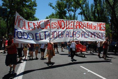 15M Puente de Vallecas /FOTO: AP15MPV