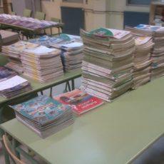 El Consejo Escolar defiende la gratuidad de los libros de texto. /FOTO: AMPA Miguel Delibes.