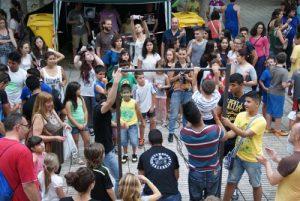 Las celebraciones han sido un éxito sin la colaboración del Ayuntamiento.  /FOTO: A.V. Madrid Sur