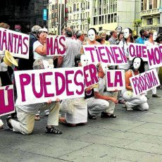 Un mensaje que conviene no olvidar /FOTO: 15M Puente de Vallekas