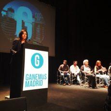 Presentación de Ganemos Madrid en el Círculo de Bellas Artes. /Foto: J.A.