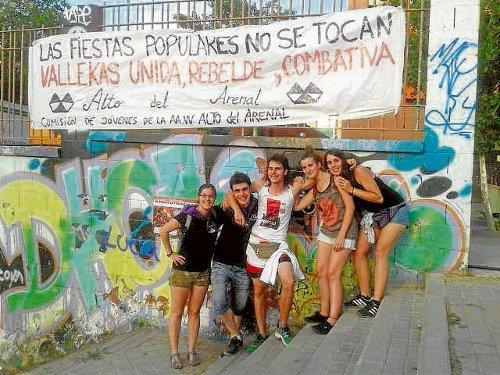 Los jóvenes, un pilar fundamental en los barrios. /FOTO: Jóvenes AV. Alto del Arenal