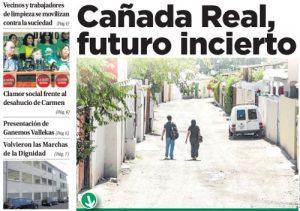 Portada Vallecas Va, edición de diciembre