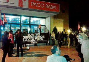 Paros en el CC. Paco Rabal