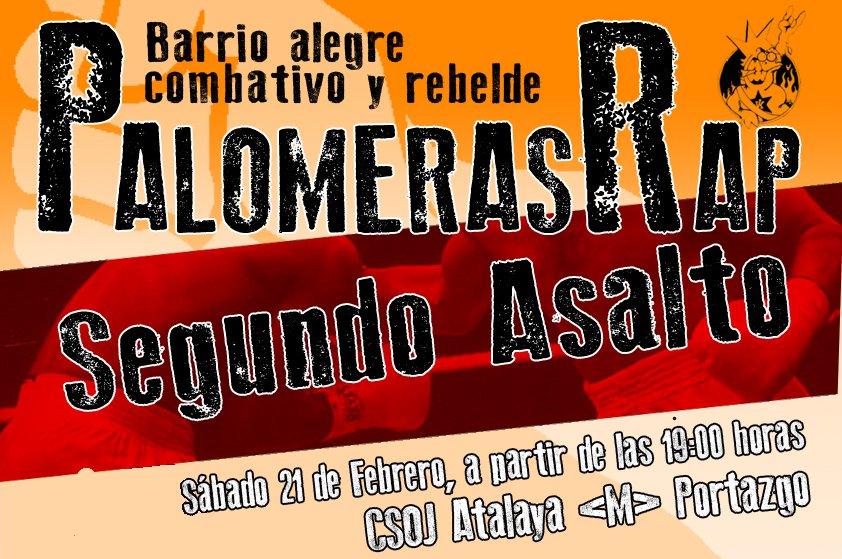 1er Palomeras Rap, segundo asalto