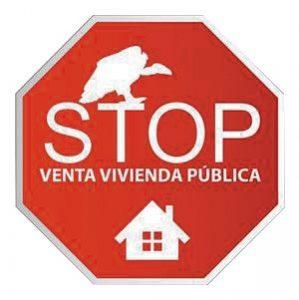Stop venta de vivienda pública