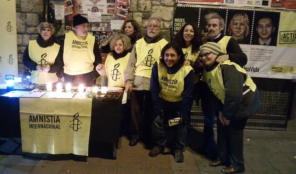 Equipo de Amnistía Vallecas