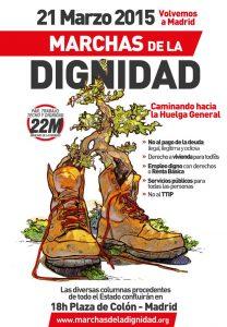 Marchas de la Dignidad, 21-M.