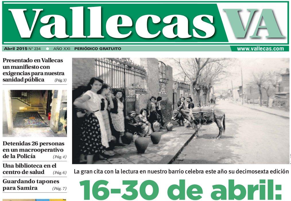 Vallecas Va, abril 2015