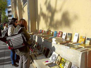 Celebración del Día del Libro en Villa de Vallecas.