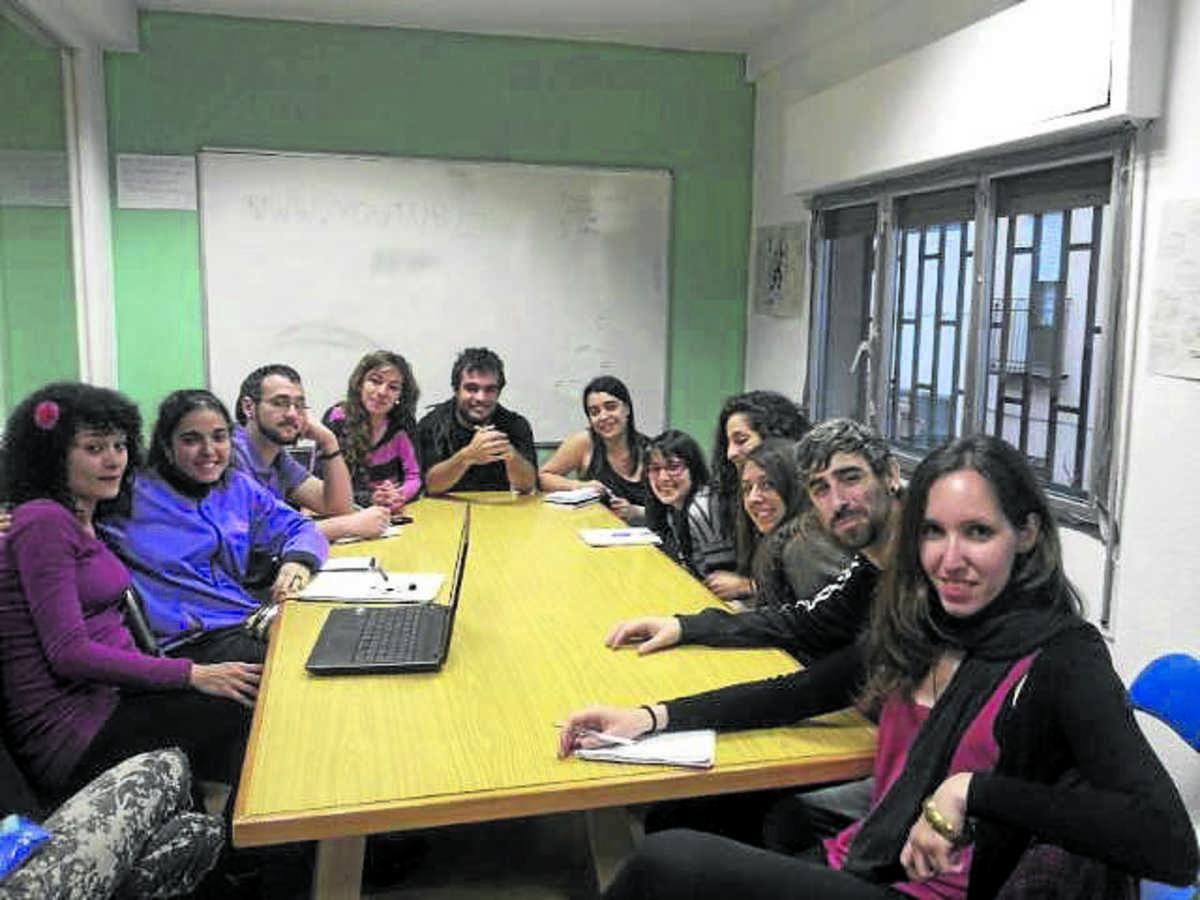 Participantes en la asamblea de la asociación.