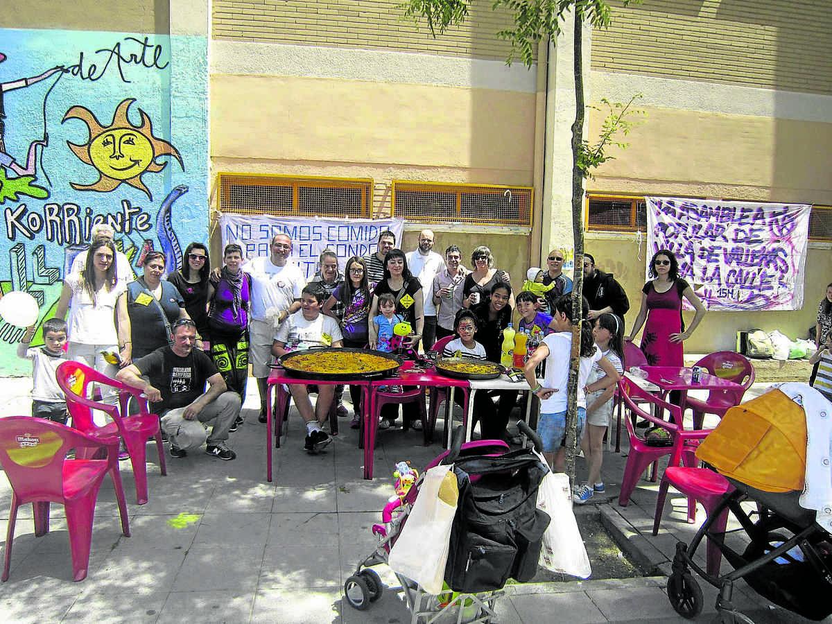 Aniversario 15M Villa de Vallecas