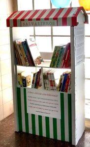 Biblioteca Salvalibros en el C.S. Rafael Alberti