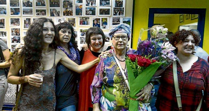 El acto, muy emotivo, tuvo lugar en el Centro Social de Entrevías.
