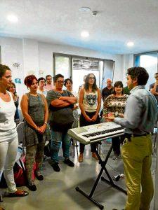 Los ensayos se realizan en el C.C. Pilar Miró.