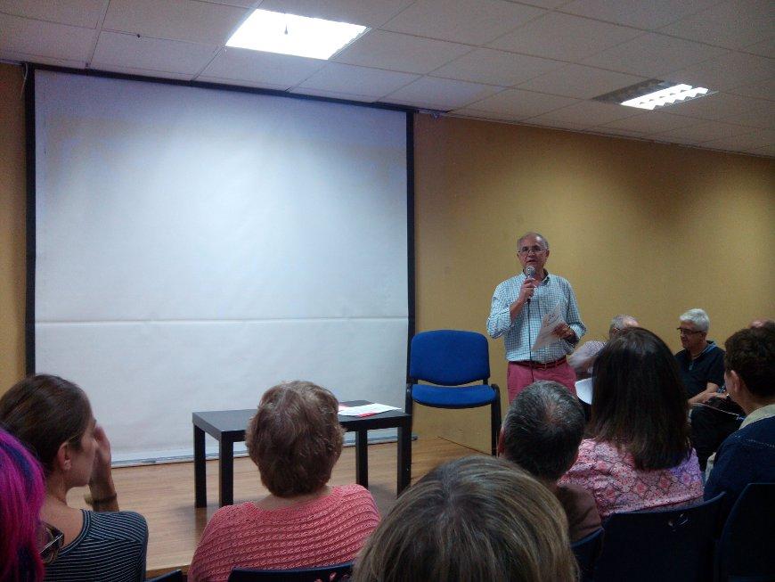 Más de 60 personas asistieron al acto en Vallecas Todo Cultura.