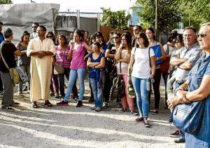 Visita profesores a la Cañada Real