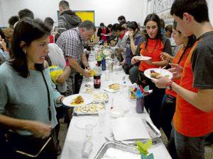 El 23 de octubre se realizó una Cena Intercultural.