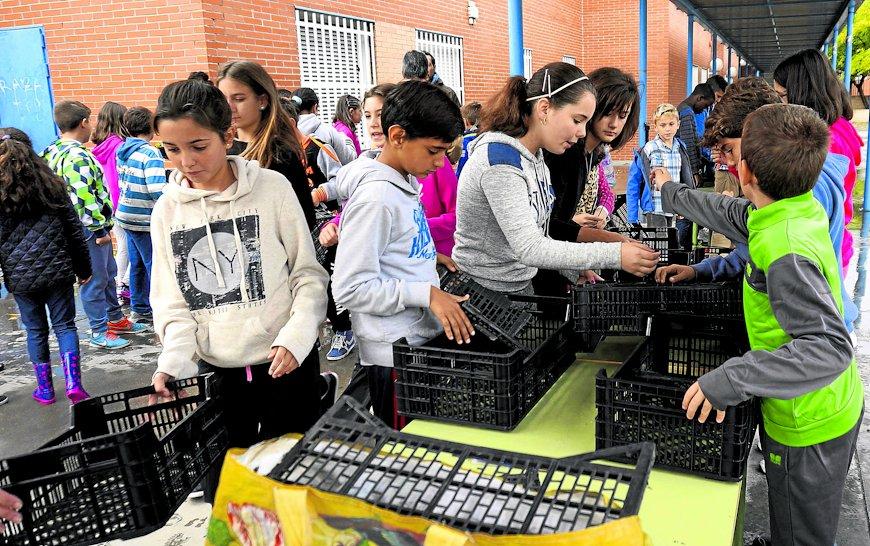El taller ha estado dirigido a alumnos de los centros de educación pública del barrio.