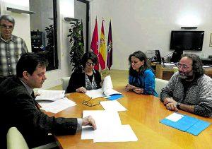 La reunión con el área de Medio Ambiente tuvo lugar el pasado 14 de diciembre.