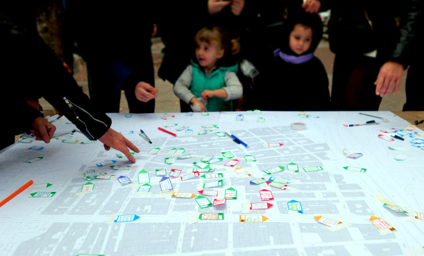 400 propuestas vecinales para la transformación del Puente de Vallecas