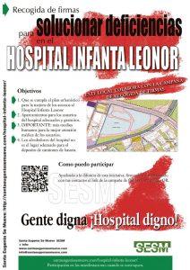 Solución a las deficiencias del Hospital Infanta Leonor