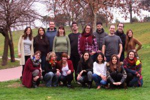 Los participantes en el proyecto: un equipo cohesionado.