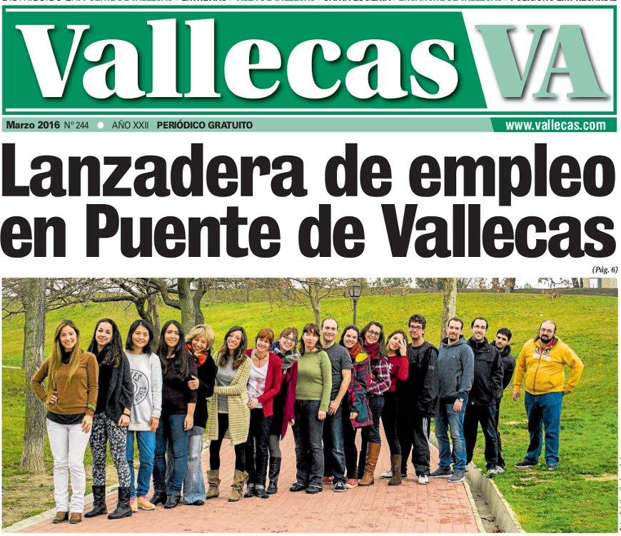 Portada Vallecas Va, edición marzo 2016
