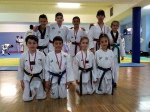 Buenos resultados del Club TKD Azofra el mes de marzo
