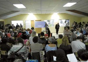 El acto tuvo lugar en la antigua fábrica de muebles del sector 6.