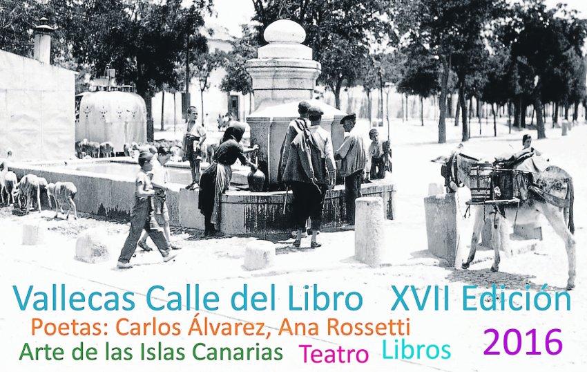 Vallecas Calle del Libro 2016