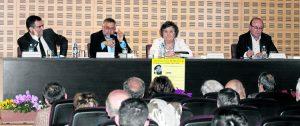 """En el acto también fue presentado un libro sobre el """"Profetismo del Padre Llanos""""."""