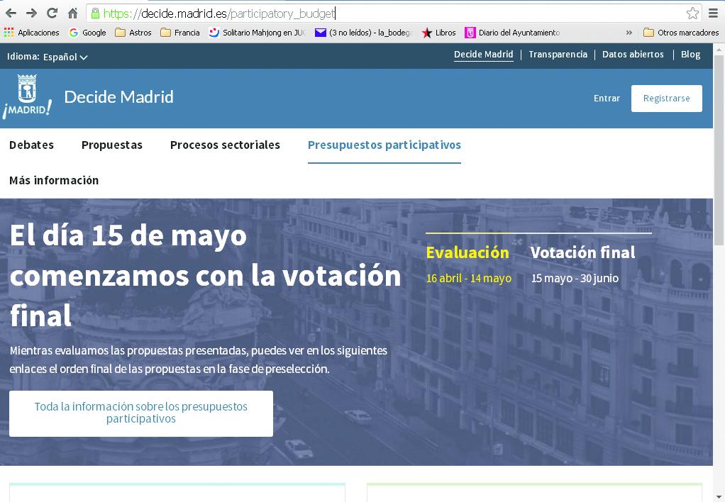 Web del Ayuntamiento