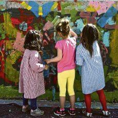 Encuentro vecinal uniendo arte, escuela y barrio.